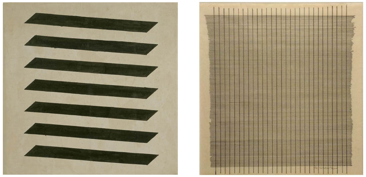 Agnes Martin via The republic of less