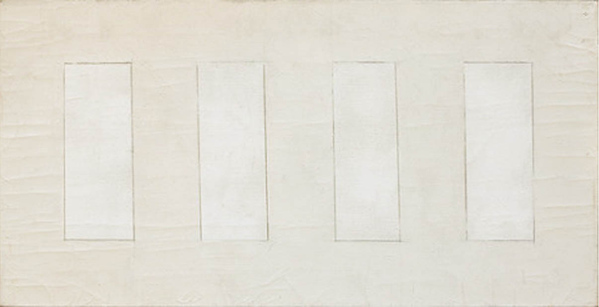 Agnes Martin - Untitled 1959 - via Wikiart