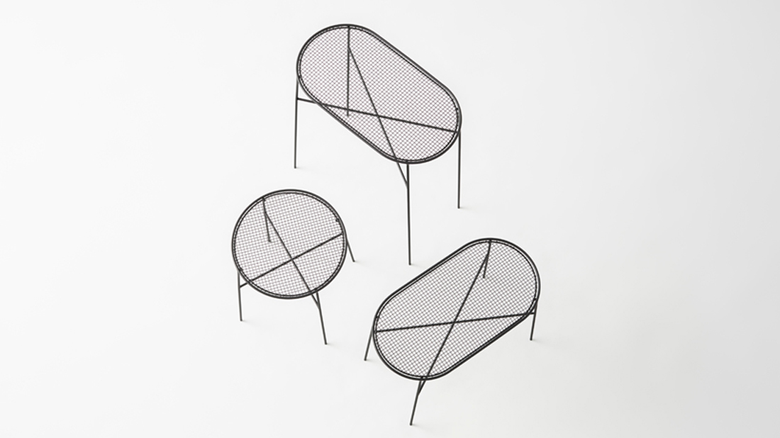 Nendo Basket Container in Black