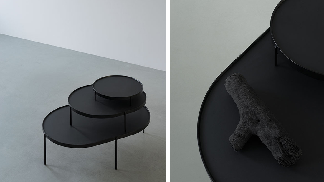 Patch side table by NORM architects.
