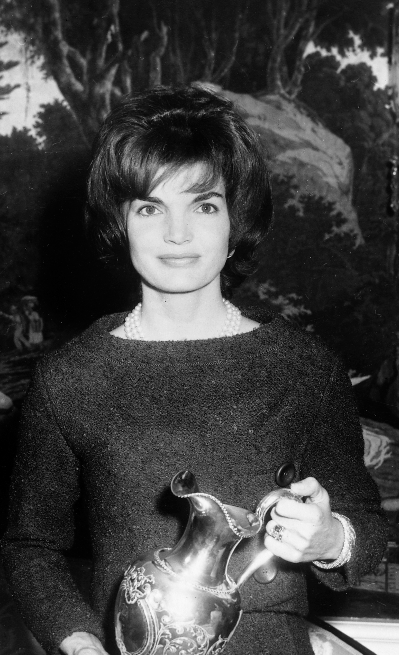 Vanessa Friedman's comment on what can be read into the wardrobe of public figures (image of Jackie Kennedy)